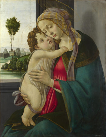 The Virgin and Child | Workshop of Sandro Botticelli | oil painting