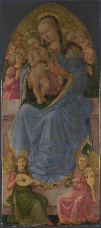 The Virgin and Child | Zanobi Machiavelli | oil painting