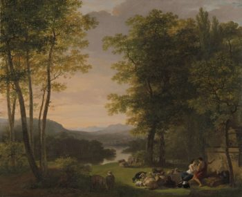 Arcadian landscape. 1813 | Jan Willem Pieneman | oil painting