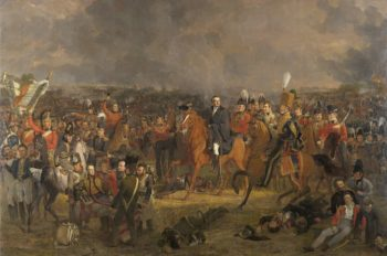 The Battle of Waterloo. 1824 | Jan Willem Pieneman | oil painting