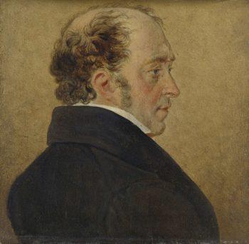 Self Portrait. ca. 1800 - ca. 1839 | Mattheus Ignatius van Bree | oil painting