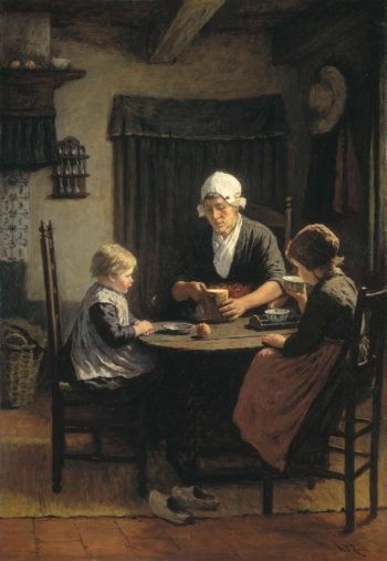 When grandmother 1883 | David Adolph Constant Artz | oil painting