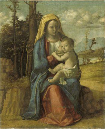 Virgin and Child. 1512 - 1517   Giovanni Battista Cima da Conegliano   oil painting