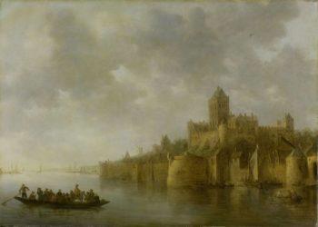 The Valkhof in Nijmegen. 1641   Jan van Goyen   oil painting