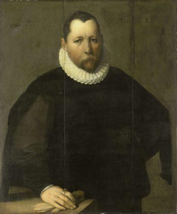 Pieter Jansz Select (ca 1536-97). Mayor of Haarlem. 1596 | Cornelis Cornelisz. van Haarlem | oil painting