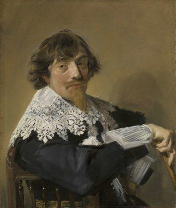 Portrait of a Man. ca. 1635   Frans Hals   oil painting