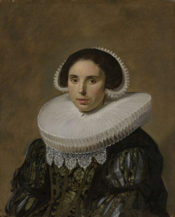 Portrait of a Woman. ca. 1635 | Frans Hals | oil painting