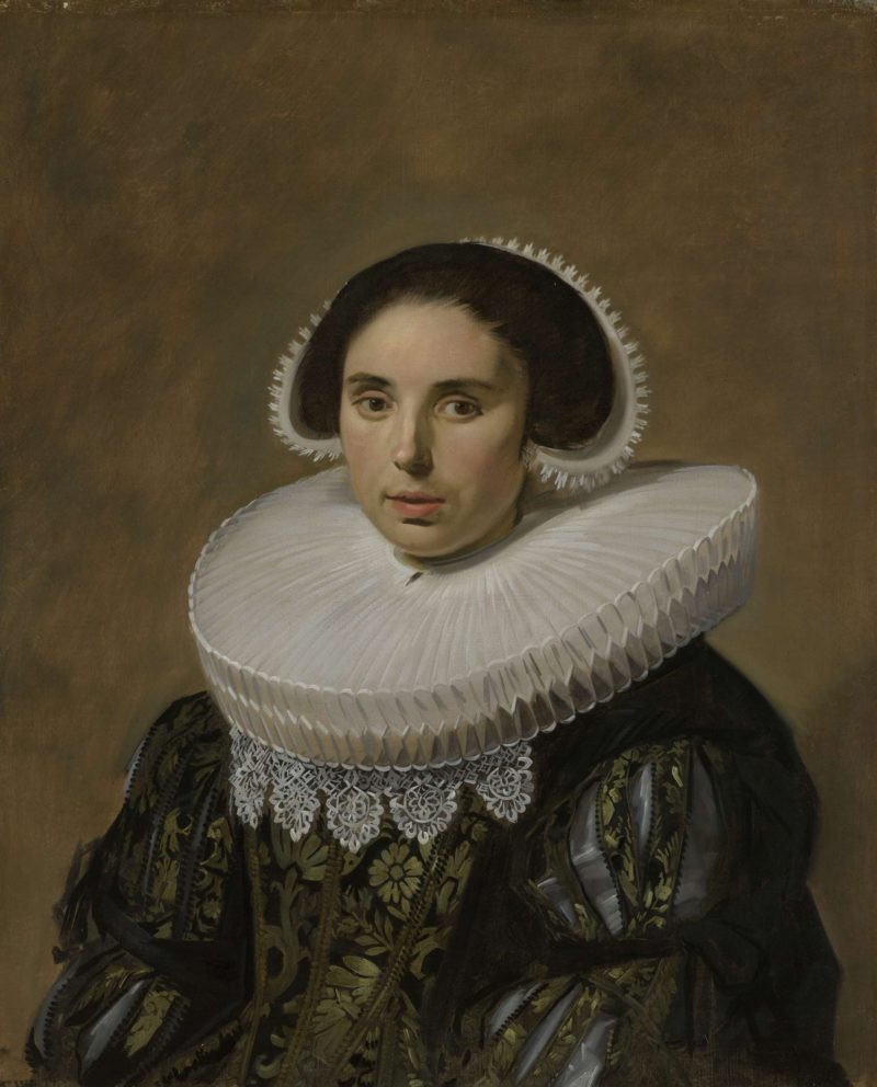 Portrait of a Woman. ca. 1635   Frans Hals   oil painting