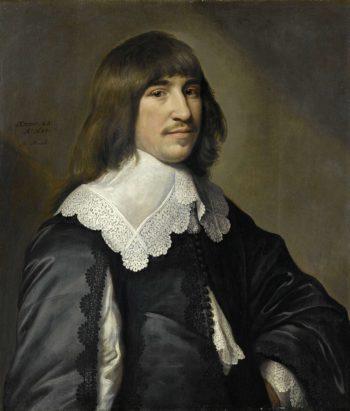 Portrait of Henrick Hooft. 1640 | Michiel Jansz. van Mierevelt | oil painting