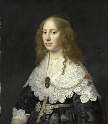 Portrait of Aegje Hasselaer
