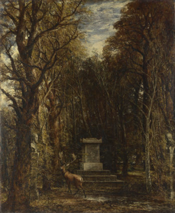 Cenotaph to the Memory of Sir Joshua Reynolds   John Constable   oil painting