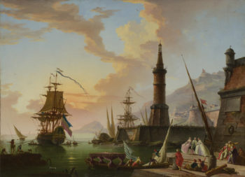 A Seaport | Claude-Joseph Vernet | oil painting