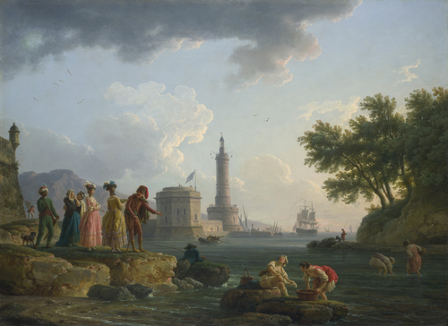 A Sea-Shore | Claude-Joseph Vernet | oil painting