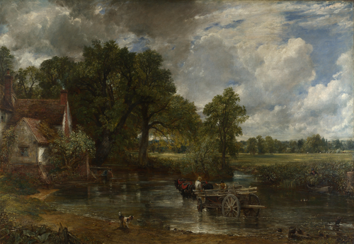 The Hay Wain | John Constable | oil painting