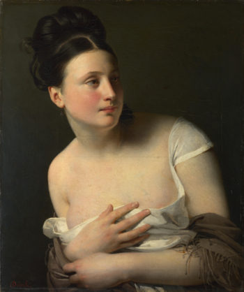 The Surprise | Claude-Marie Dubufe | oil painting