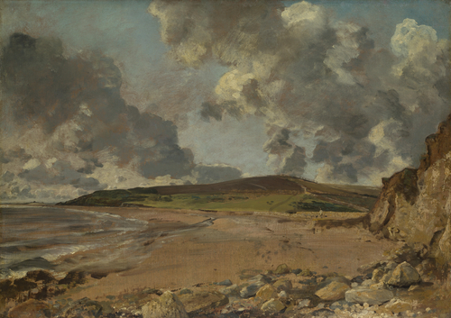 Weymouth Bay Bowleaze Cove and Jordon Hill   John Constable   oil painting