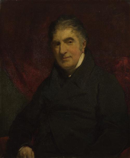 Reverend William Holwell Carr   John Jackson   oil painting