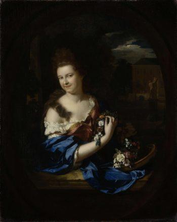 Margaret Rendorp (1673-1730). Wife of Jan van de Poll. 1692 | Adriaen van der Werff | oil painting