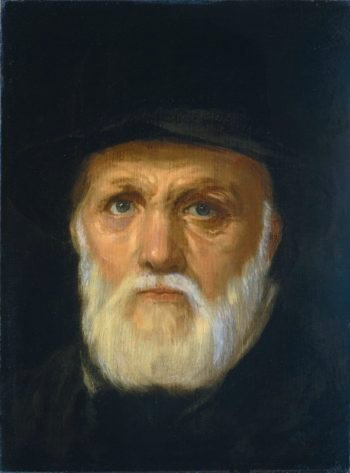 Dirck Volkertsz Coornhert (1522-90). Literary and engraver. 1572 - 1600 | Cornelis Cornelisz. van Haarlem | oil painting