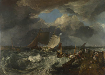 Calais Pier | Joseph Mallord William Turner | oil painting