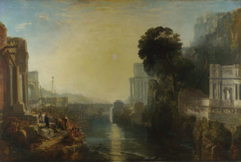Dido building Carthage | Joseph Mallord William Turner | oil painting