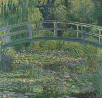 The Water-Lily Pond | Claude-Oscar Monet | oil painting