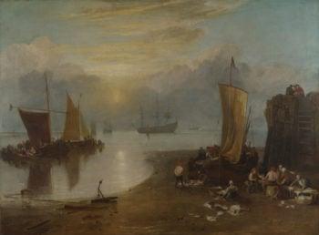 Sun Rising through Vapour   Joseph Mallord William Turner   oil painting