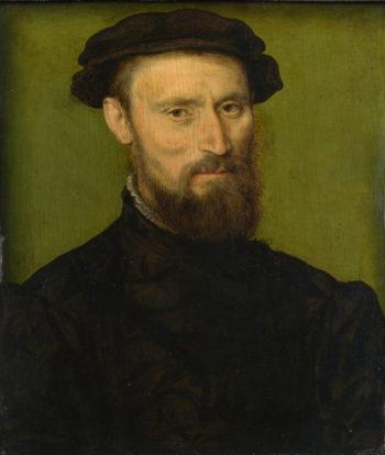 Bust Portrait of a Man | Corneille de Lyon | oil painting