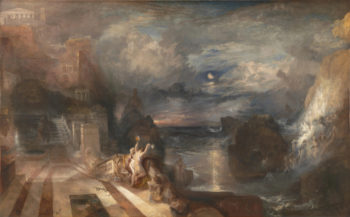 The Parting of Hero and Leander | Joseph Mallord William Turner | oil painting
