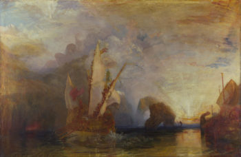 Ulysses deriding Polyphemus- Homer's Odyssey | Joseph Mallord William Turner | oil painting