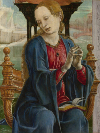The Virgin Annunciate | Cosimo Tura | oil painting