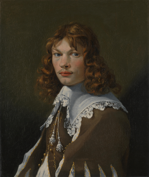 Portrait of a Young Man (Self Portrait) | Karel Dujardin | oil painting