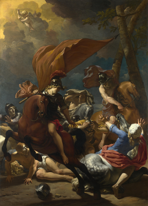 The Conversion of Saint Paul | Karel Dujardin | oil painting