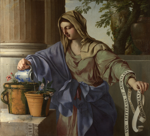 Allegory of Grammar | Laurent de La Hyre | oil painting