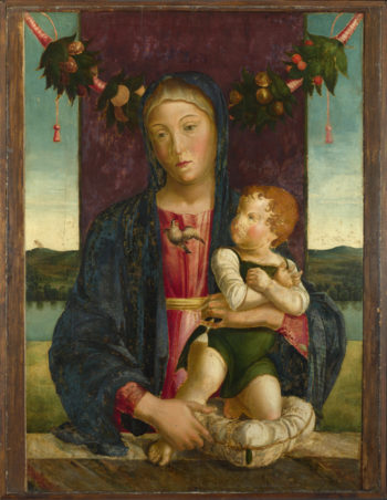 The Virgin and Child | Lazzaro Bastiani | oil painting