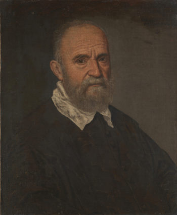 Portrait of a Bearded Man | Leandro Bassano | oil painting