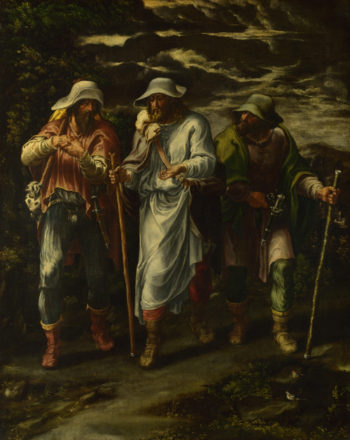 The Walk to Emmaus | Lelio Orsi | oil painting