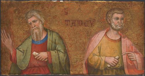 Two Apostles | Dalmatian | oil painting