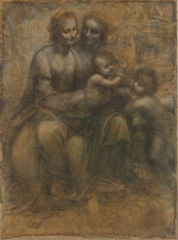 The Leonardo Cartoon | Leonardo da Vinci | oil painting