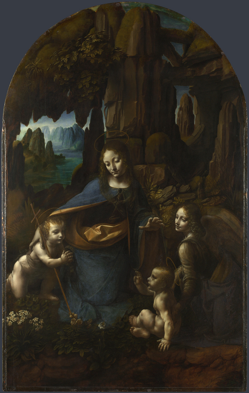 The Virgin of the Rocks | Leonardo da Vinci | oil painting