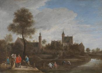 A View of Het Sterckshof near Antwerp | David Teniers the Younger | oil painting