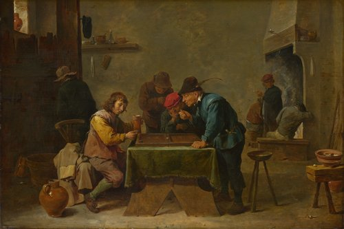 Backgammon Players | David Teniers the Younger | oil painting