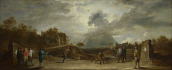 Peasants at Archery | David Teniers the Younger | oil painting