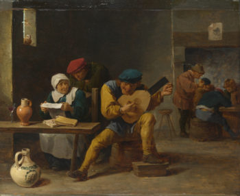 Peasants making Music in an Inn | David Teniers the Younger | oil painting