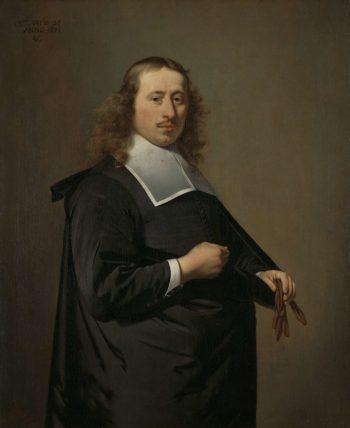 Willem Jacobsz Baert (1636-84). Mayor of Alkmaar and Amsterdam. 1671   Caesar Bo?tius van Everdingen   oil painting