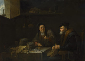 The Covetous Man | David Teniers the Younger | oil painting