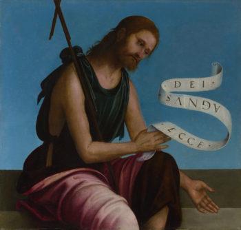 Saint John the Baptist | Lorenzo Costa | oil painting