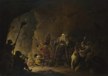 The Rich Man being led to Hell | David Teniers the Younger | oil painting