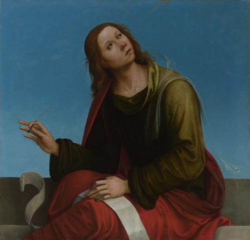 Saint John the Evangelist | Lorenzo Costa | oil painting