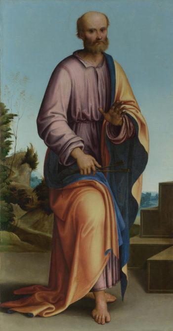 Saint Peter   Lorenzo Costa   oil painting